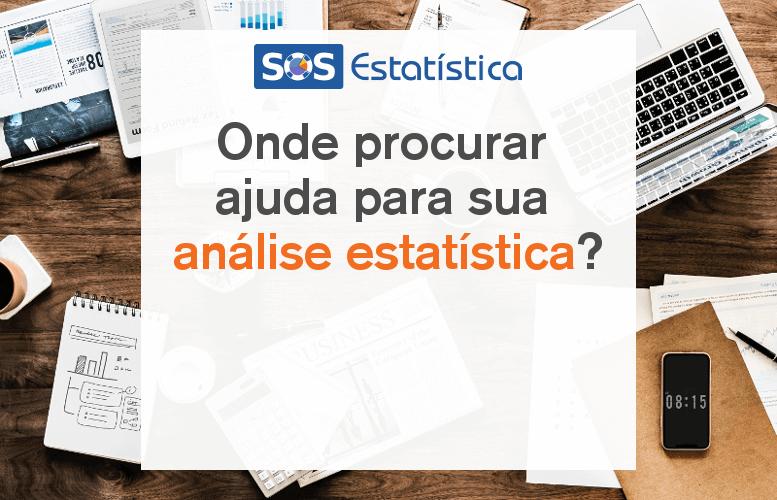onde procurar ajuda análise estatística